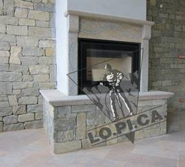 SPLIT WALL COVERING Luserna stone